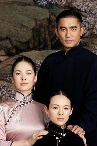 Song Hye Gyo, Zhang Ziyi, Tony Leung in The Grandmaster