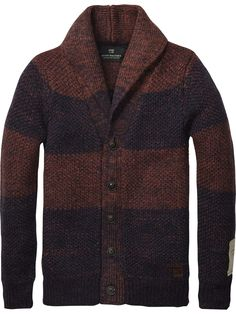 Mohair Structured Cardigan > Mens Clothing > Pullovers at Scotch & Soda