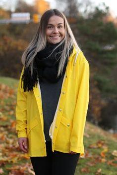 Rains - Jacket Yellow Raincoat, Yellow, Jackets, Fashion, Rain Jacket, Down Jackets, Moda, La Mode
