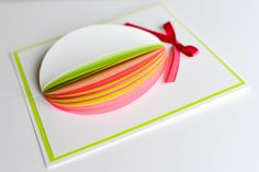 How to Make - Easter Egg Greeting Card - Step by Step   Kartka Wielkanocna
