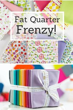"""Hobbycraft Fat Quarters Bundle Cotton 18/"""" x 22/"""" Quilting Sewing Crafting"""