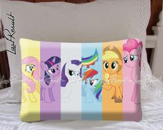 My Little Pony Decorative Pillow Covers by TheLastResult on Etsy, $16.50