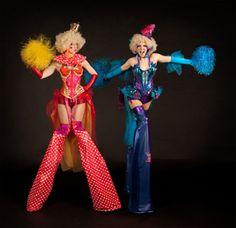 Dream - Clown Stilts - Walkabout