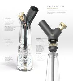 The classiest bong ever will get you high as f*ck AND look fabulous with your Swedish furniture | Dangerous Minds