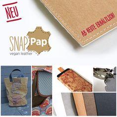 NEU! SnapPap ist ab heute hier erhältlich: http://www.snaply.de/SnapPap-vegan-leather---195.html Noch mehr Infos gibt es hier >> http://snap-pap.de/
