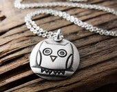 owl necklace ~ lulubugjewelry on etsy
