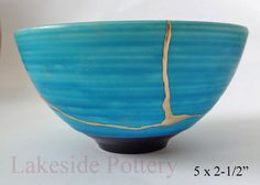 "Kintsugi / Kintsukuroi - the art of imperfection. ""There is beauty in the…"