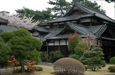 I LOVE LOVE LOVE this house! Japanese architecture ranks WAY toward the top of the list in my book.