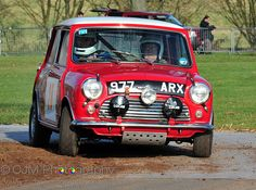 977 ARX .. 1962 RAC Rally 997cc Cooper , driven by R.Aaltonen / T.Ambrose , finished 5th o/a  1st in class .