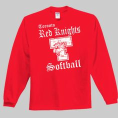 Toronto Softball 001 - Long Sleeve T-Shirt