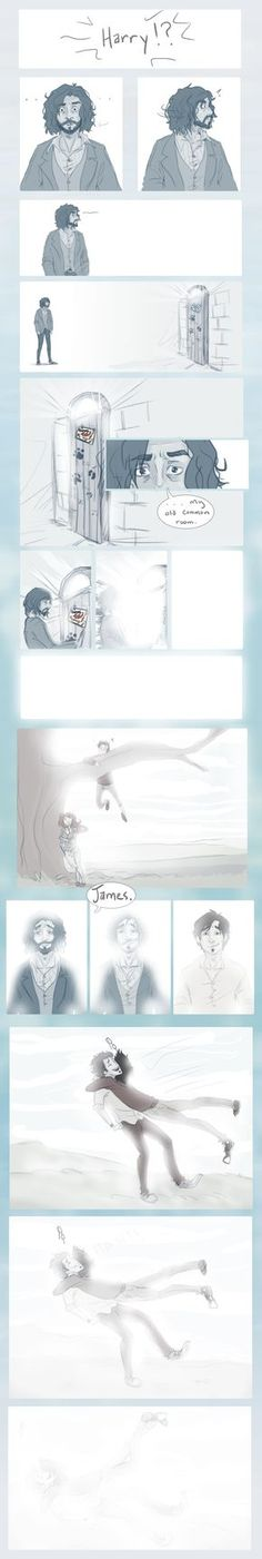Beyond the Veil by *Avender on deviantART  Sirius Black and James Potter, beyond the Veil {sobs}