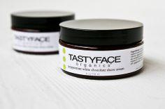 TastyFace Organics Peppermint White Chocolate Shave Cream
