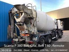 Scania P 380 Cifa , Belt , Remote control, Steel suspension, Ma. Mobile Marketing, Semi Trucks, Social Networks, Social Media, Sale Promotion, Transportation, Remote, Belt, Steel