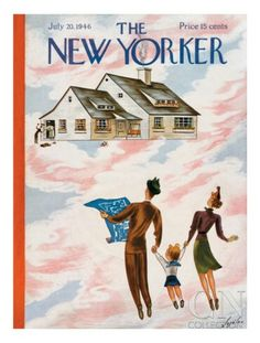Issue of #TheNewYorker from my grandpop's birthday 7.20.1946 #July201946 #magazines #1946 #40s