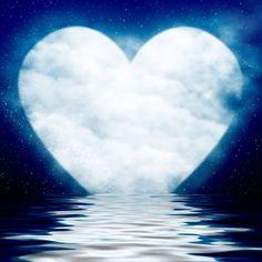 My blue blue heart Heart In Nature, Heart Art, I Love Heart, Happy Heart, Happy Life, Cadre Design, Unhappy Marriage, Beautiful Moon, Stars And Moon