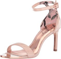 Enjoy exclusive for Ted Baker Women's Ulanii Heeled Sandal online - Topselectstore High Heel Pumps, Shoes Heels, Heeled Sandals, Ted Baker Womens, London Shoes, Trail Running Shoes, New Fashion, Summer Heels, Sparkle