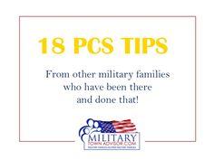 PCS Tips   Military Town Advisor