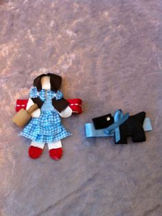 Dorothy and Toto inspired Ribbon Sculpture by SweetTangerineBoutiq, $9.00