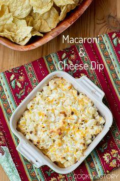 Mac 'n' Cheese DIP!!