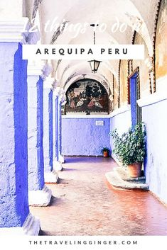 12 things to do in Arequipa, Peru. Check out the San Juan Bautista, Mirador de Yanahuara, and the Monastery of Santa Catalina. Arequipa is a beautiful city with great things to do and see. Machu Picchu, Lima, Peru Travel, Slow Travel, Family Travel, South America Travel, Future Travel, Oh The Places You'll Go, Travel Around The World