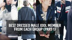 Best Dressed Boys of Top Idol Groups (Part 1) | allkpop.com