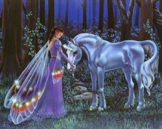 Mystical Fairies | Unicorns Page 1.... Mystical Unicorns, Wizards, & Pegasus': Wallpaper ...