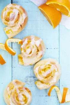 Mom's Famous Orange Rolls with Buttercream Frosting