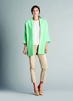 Ellen Tracy   LookBook Career Wear, Ellen Tracy, Spring Summer 2015, Spring Collection, Attitude, Duster Coat, Glamour, My Style