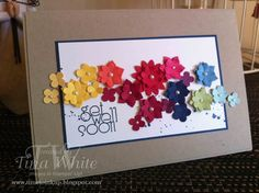 Stampin' Up! Australia - Tina White - Time to Ink Up - Independent Stampin' Up! Demonstrator: A Cheery Get Well