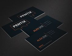 """Check out new work on my @Behance portfolio: """"Business card for social media company"""" http://be.net/gallery/45955087/Business-card-for-social-media-company"""
