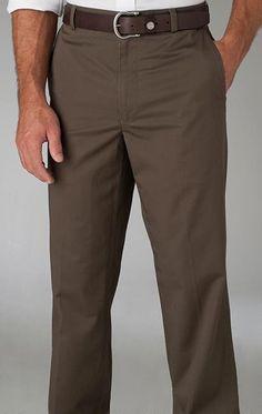 Channel Marker II Flat Front Pants - Dark Coffee
