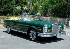 Beautiful MB Cabriolet 60's