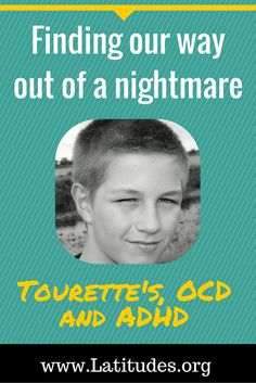 My 14-year-old son Andy was diagnosed with Tourette syndrome, ADHD, and obsessive compulsive disorder at the age of seven. In this article I would like to share our experience of the nightmare we went through with his medications, and the positive effects he has experienced from dietary interventions. We are so grateful, and hope other families find this helpful.