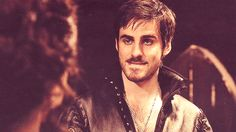 Pin for Later: 37 Reasons You're Deeply in Love With Once's Captain Hook This look? Priceless.