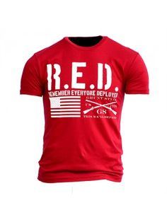 Remember RED shirt Fridays