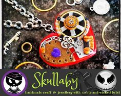 Our featured business this week - Skullaby 💀 ~ Here you will find beautiful handmade jewellery, cute figurines and miniatures, as well as a wide. Handmade Crafts, Handmade Jewelry, Social Media Ad, Jewelry Crafts, Miniatures, Ads, Personalized Items, Link, Cute