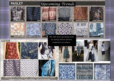 Inspiration for Paisley Pattern project.