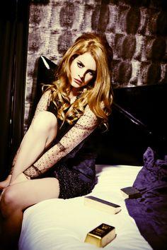 Lana Del Rey by Ellen von Unwerth (Dark Paradise - Vogue Italia August 2012) 1
