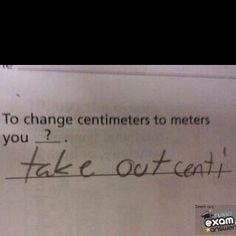 Math teacher humor