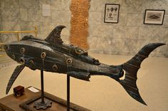 Steampunk Tendencies | Steampunk Nautilus by Doctor Grymm #Model #Submarine #Steampunk