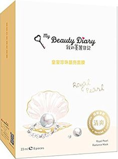 Amazon.com : My Beauty Diary Royal Pearl Radiance Mask 2016 New Version, 8 Piece : Beauty