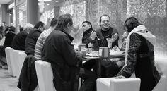Pause im Cafe