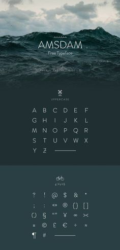 Amsdam Typeface Free Font