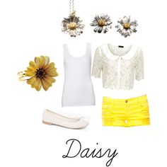 Daisy, created by olivialg on Polyvore