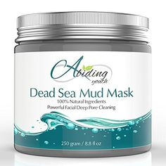 Abiding Youth Dead Sea Mud Mask - Best Spa Facial Mask for Pores - Natural Face Mask for Oily Skin, Acne, Eczema, Psoriasis and Blackheads -Best Pore Cleanser, Pore Minimizer & Pore Reducer Abiding Youth http://www.amazon.com/dp/B00XNZ21J2/ref=cm_sw_r_pi_dp_1oNOvb0YRBKAW