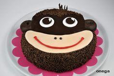 Tarta cara de mono. Link en la foto para acceder a la receta: http://www.blogseitb.com/recetasdecocina