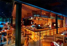 go restaurant hopping! go to 3 different restaurants for appetizers, main course and dessert. You can take turns picking the restaurant Bar Interior Design, Restaurant Interior Design, Cafe Design, Interior Decorating, Decorating Ideas, Restaurant Interiors, Restaurant Furniture, Store Design, House Design