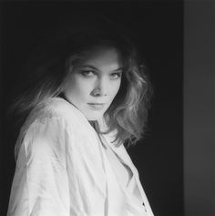 Kathleen Turner, 1982 Gelatin silver print photographed by Robert Mapplethorpe