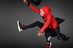Jumping Sportswear Lookbooks - The Nike Women's FW13 Catalog Stars a Slew of Female Athletes (GALLERY)