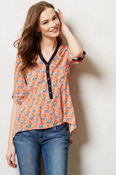 Honore Buttondown - anthropologie.com